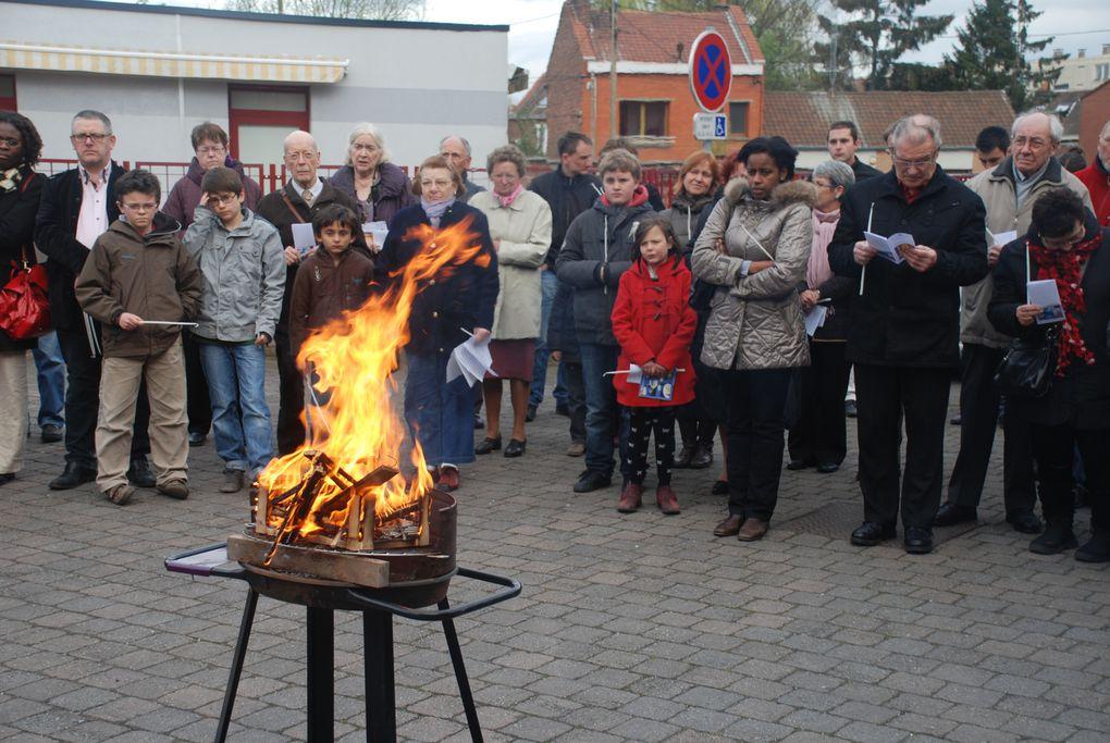 à la paroisse de Faches-Thumesnil, avril 2012