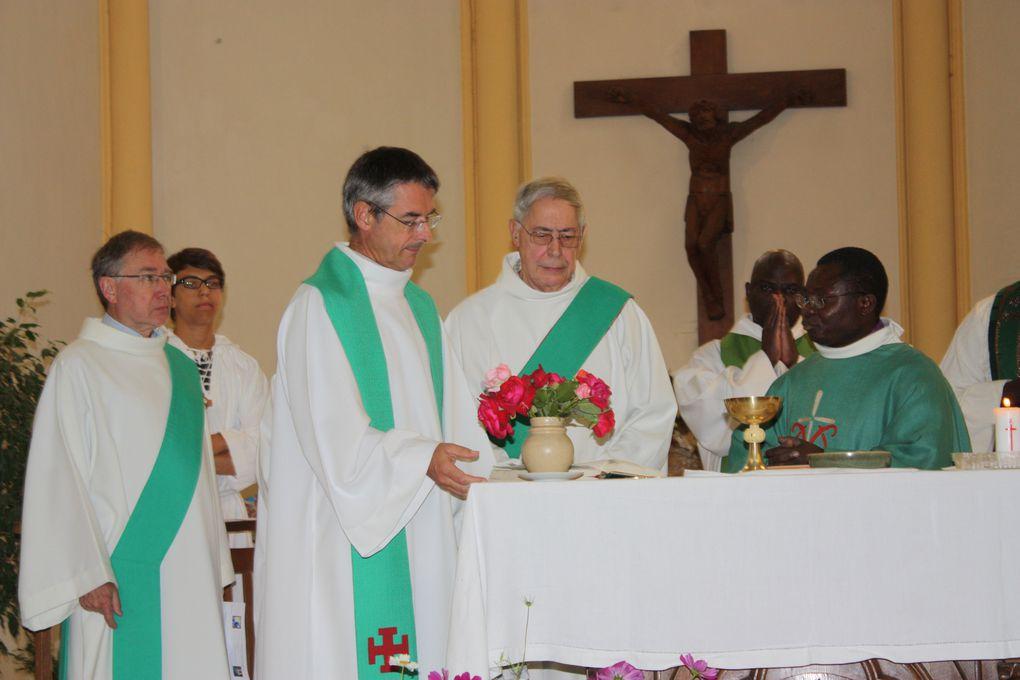Messe d'Août 2012 et auberge espagnole salle Ste Marguerite