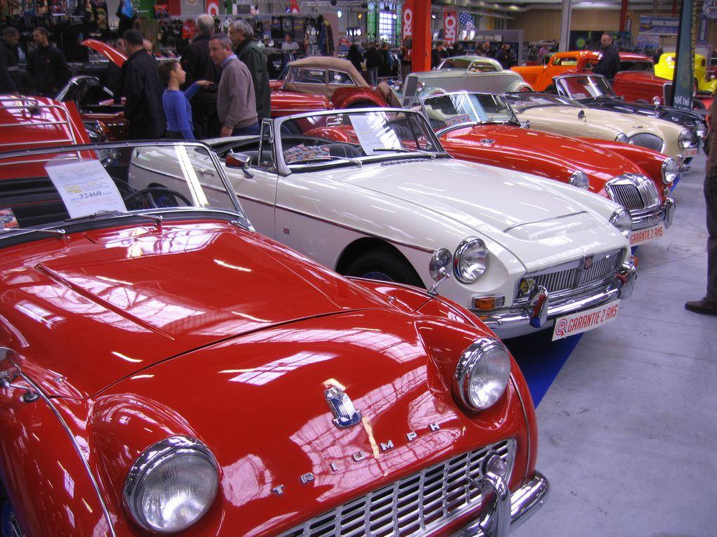AUTOMEDON MOTORAMA 2013Exposition Autos Motos anciennes Le Bourget