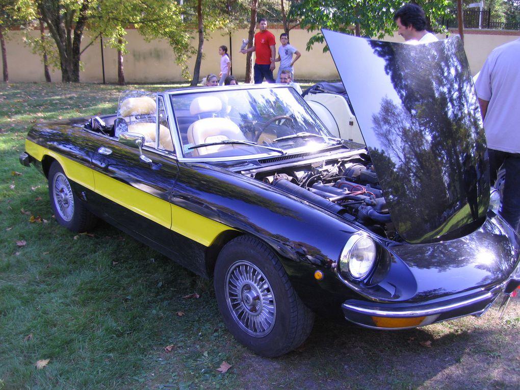 Les Belles-du-Vert-Galant  2/9/2011 Tremblay en France, rassemblement et exposition de voitures anciennes en Seine St Denis