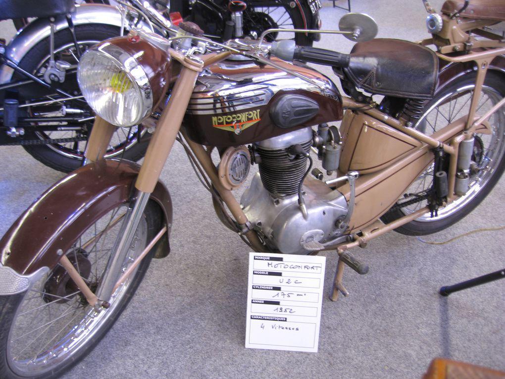 Bourse expo Moto 2014 à DomontExposition Motos anciennes et de collection