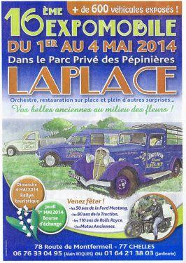 Photos Expomobile Jardinerie La Place 2014Exposition de voitures et véhicules et moto anciens et de collection