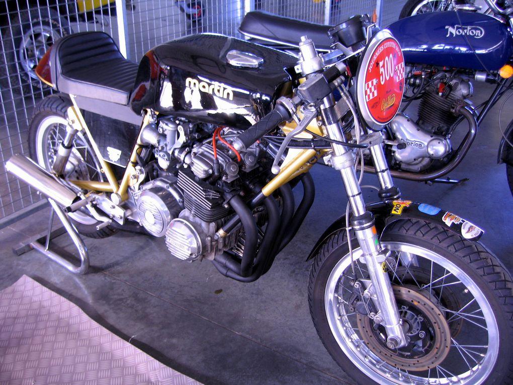 Journées-Coyote-2010-NogaroDémonstrations motos et sides anciens