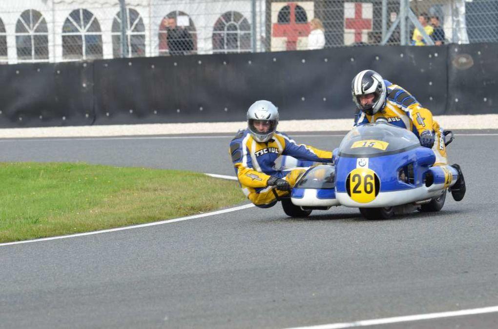 TROPHEES Gerard Jumeaux2013 Photos pisteDémonstration motos et sides anciens Circuit Carole