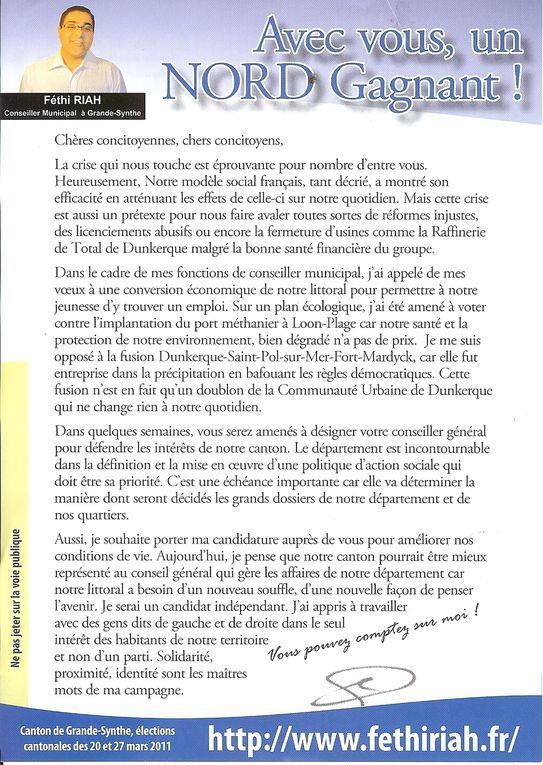 Album - Fethi Riah canton de Grande-Synthe