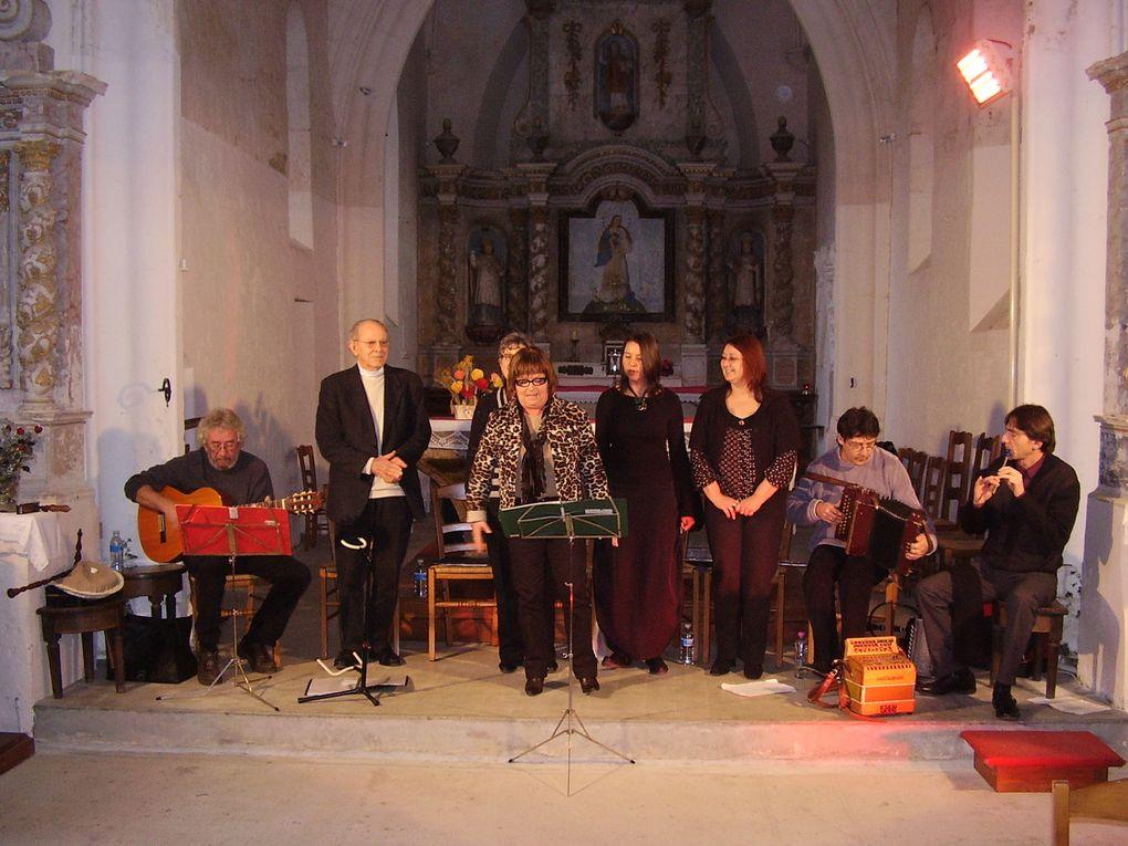 Dernière manifestation de l'association le 6 décembre 2009 à Saint Etienne de Brillouet avec ce concert de la Soulère.
