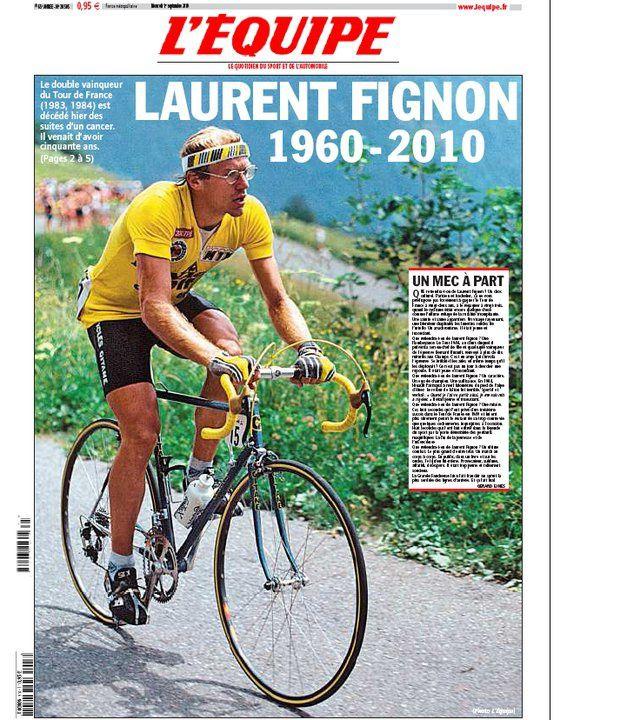 Un grand champion nous a quitté le 31 août 2010. Il est donc normal de lui rendre un hommage appuyé. Double lauréat du Tour de France (1983, 1984) et du Giro (1989), il restera comme un des meilleurs cyclistes Français de l'Histoire.