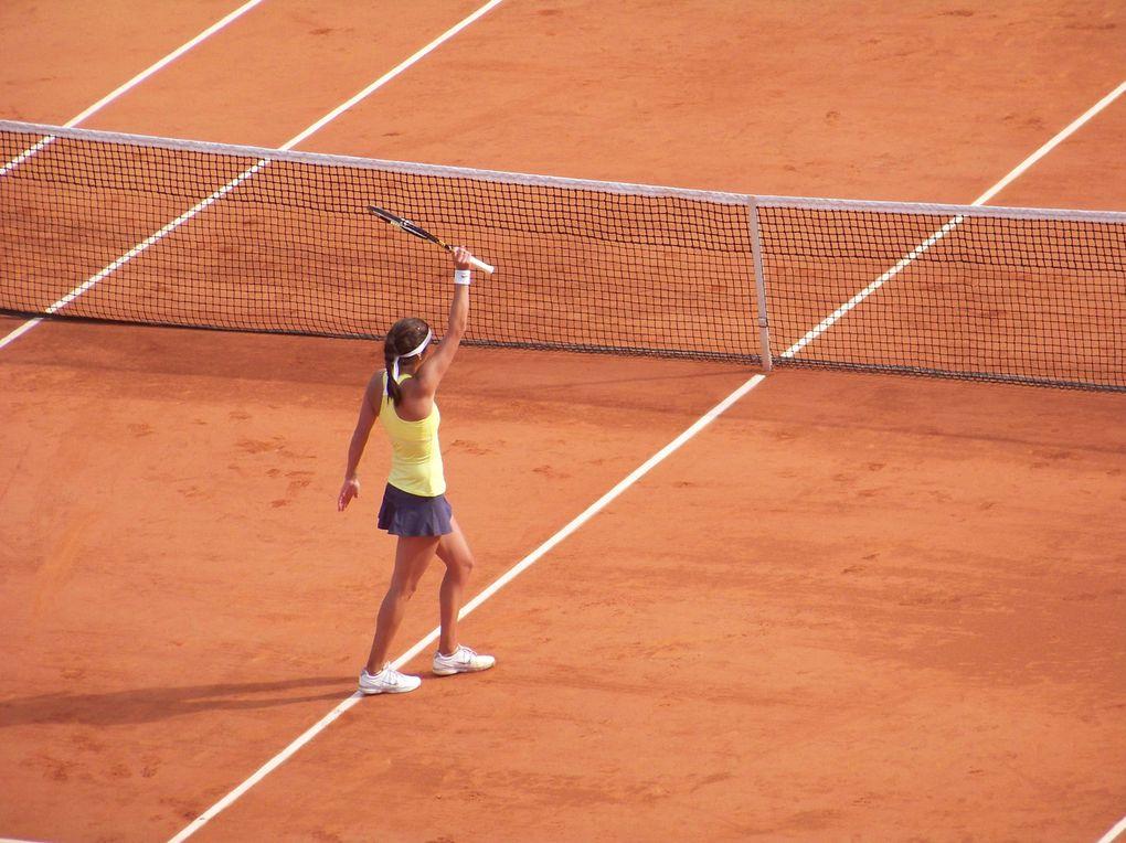 Les plus belles images du tournoi du Grand Chelem, Porte d'Auteuil.Photos : Florent Rols.