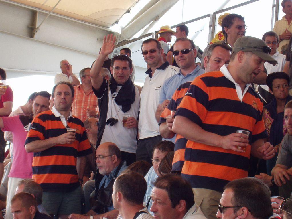 demi-finale USAP contre le Stade Français au stade de Gerland le 30 mai 2009