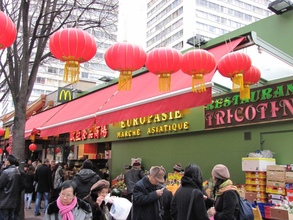 L'année du Lapin.Balade dans Paris (13) le 6 février 2011