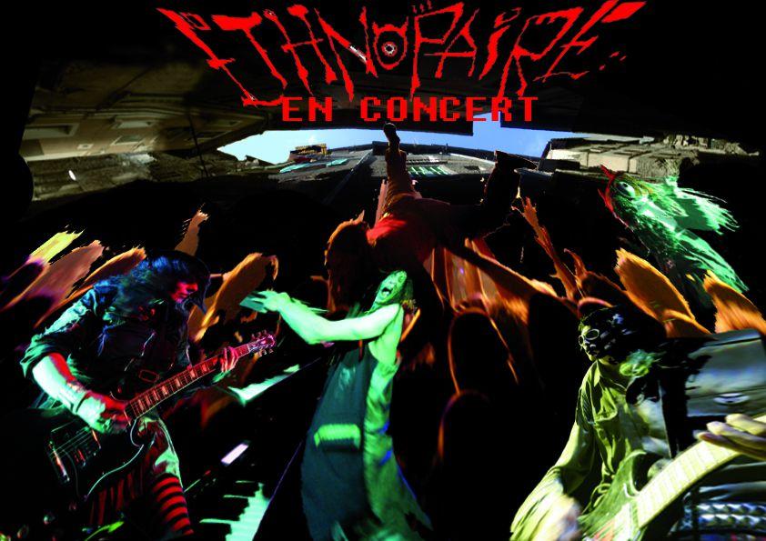Les photos des concerts du groupe Ethnopaire