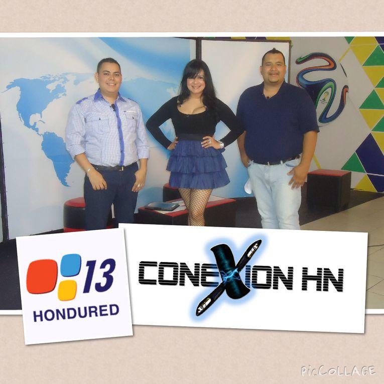 Conexion HN Trasmitido por Hondured Cana 13 todos los Sabados y Domingos de 6:00pm Presentadores Jose Lopez Yessy Rubio Erick Estrada www.hondured.tv
