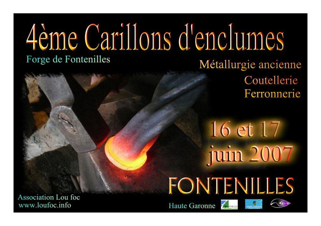 Album - Carillons d'enclumes 2007