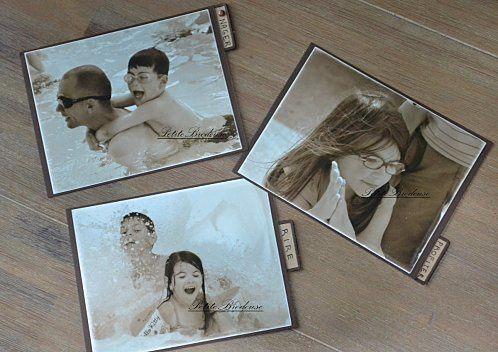 toutes mes réalisations  Scrap avec photos
