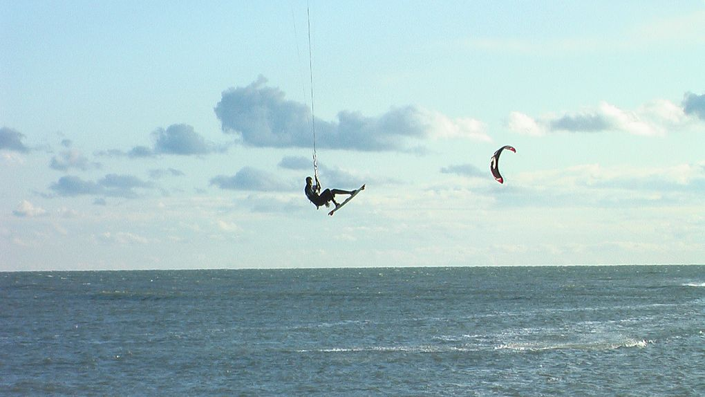 Photos des secrets spots de kitesurf.