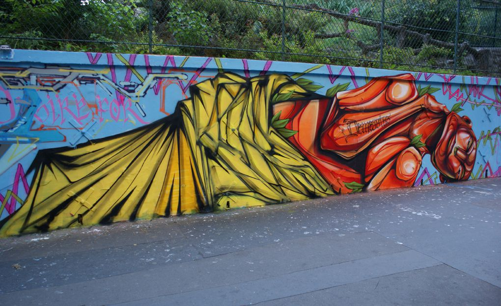 Album - Graffitis-PARIS-divers-Tom-015