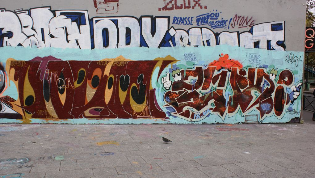 Album - Graffitis-Paris-divers-Tom-018