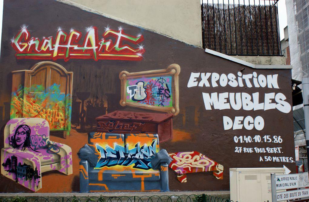 Album - Graffitis Saint Ouen tom 001
