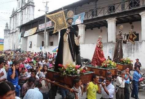 Fiesta celebrada el 4 de Agosto en Cobàn, AlTA VERAPAZ
