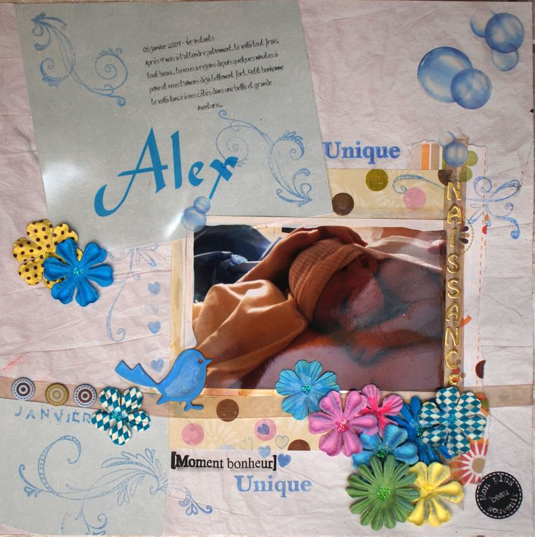 Album - Scrap-Album-1-an-Alex