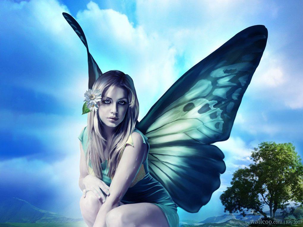 Imagenes de seres mitologicos, portadas de libros, etc.