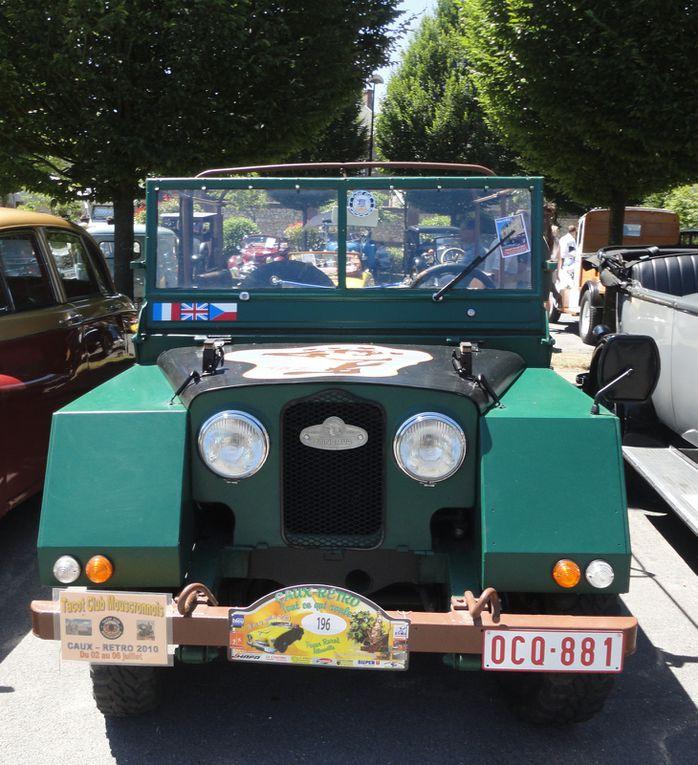 16e Edition de Caux Rétro dimanche 04 juillet 2010.