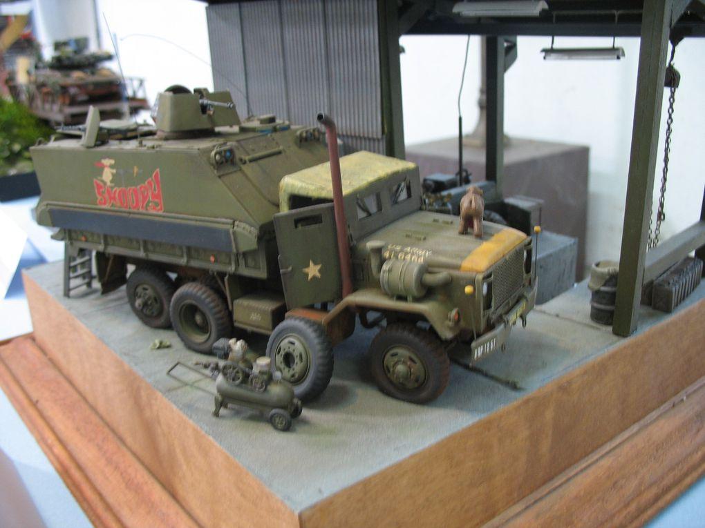 Exposition Maquettes Musée des Blindés de Saumur - Mai 2009