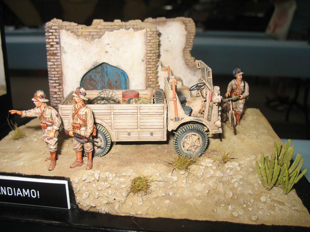 Photos de l'expo maquettes de Saumur 2012