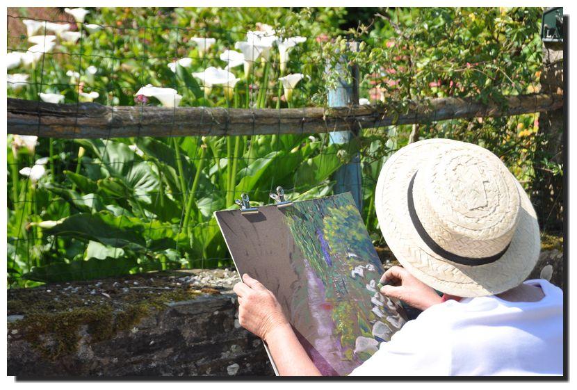 Peindre au Vast, la journée 2013