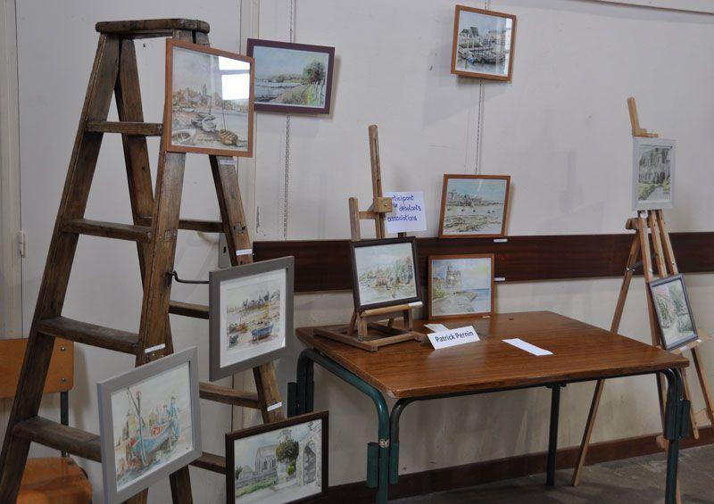 Des images des différentes expositions.