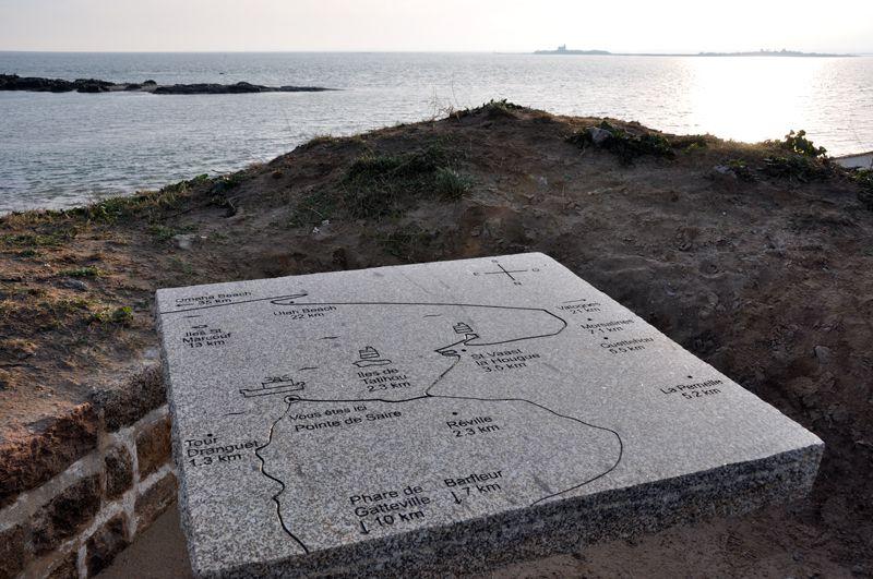 La Côte des Vikings, de Quinéville à Tourlaville.