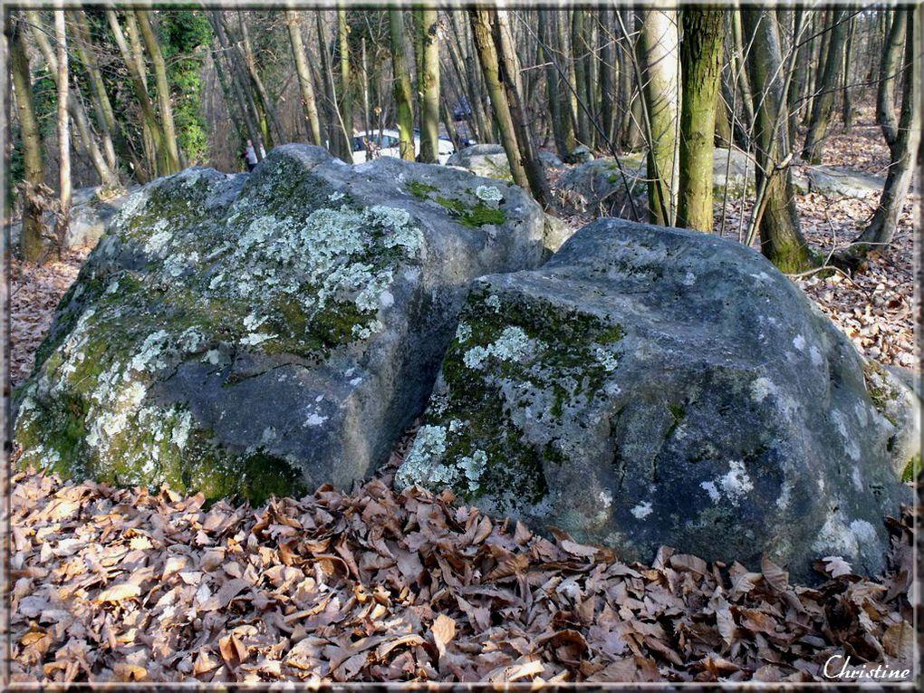 Situé près de St Vallier , à St barthélémy de Vals dans la Drôme, c'est un site classé  et une curiosité géologique naturelle . Les roches qui dansent est un haut lieu magique.