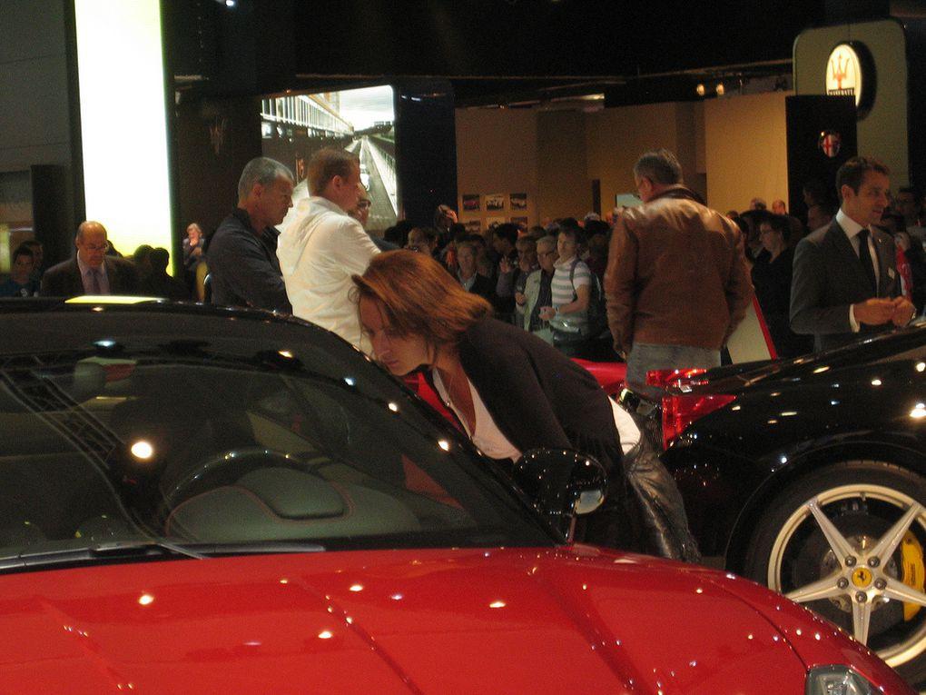 Mondial de l'auto à Paris et divers salons