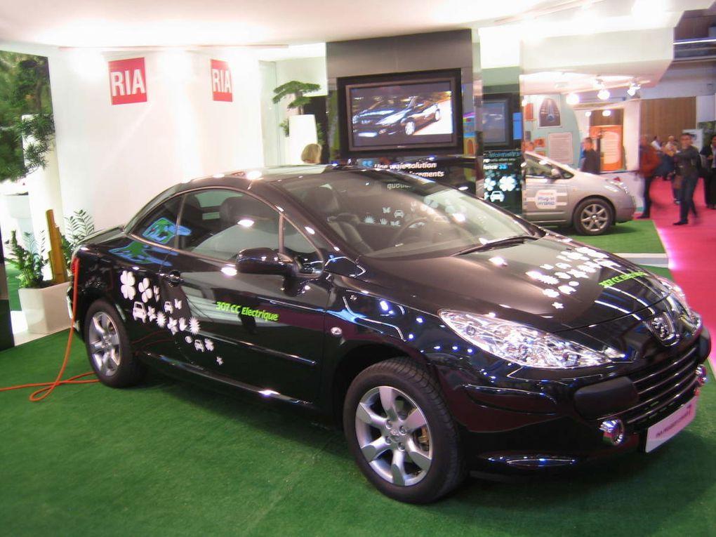 Quelques voitures électriques d'hier, d'aujourd'hui et de demain.