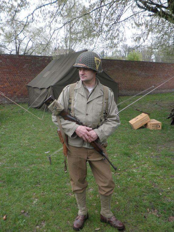 Exposition maquettes et véhicules WW2