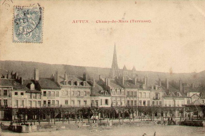 Album - vieilles-cartes-postale- Autun non mis sur le blog
