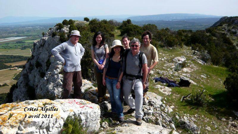 Circuit des crêtes et du plateau de la CAUME à ST REMY de Provence. ALPILLES.