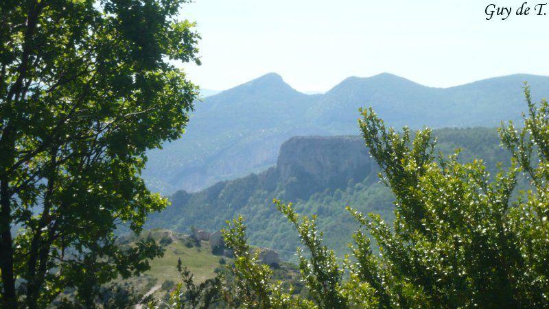 Rando de moyenne montagne secteur Verdon. 20kms - 600m de D+ et de D-Sans aucune difficulté.