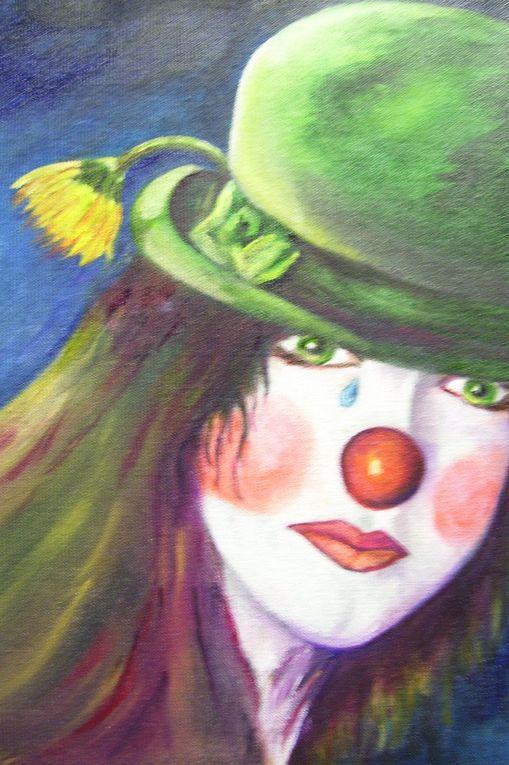 aquarelles, pastels et autres folies...