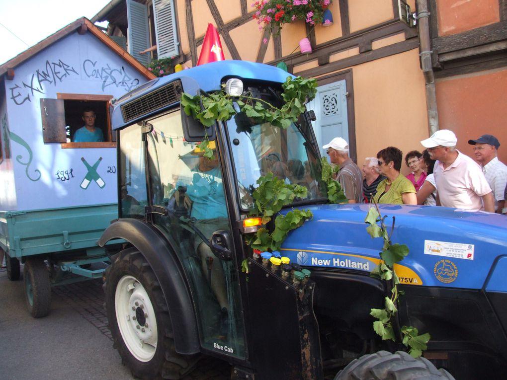Eguisheim et la fête des vendanges,  environs...