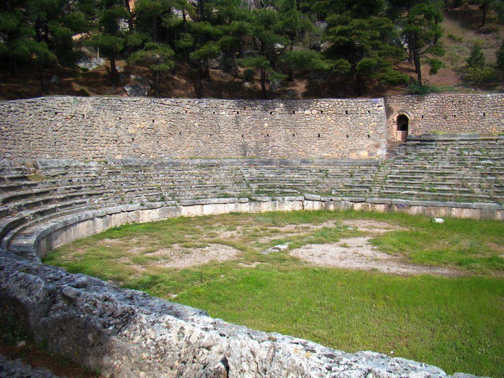 première semaine en Grèce