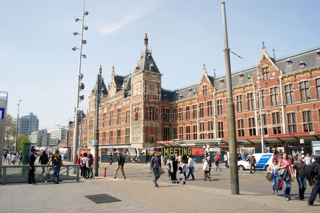 De Keukenhof à Amsterdam