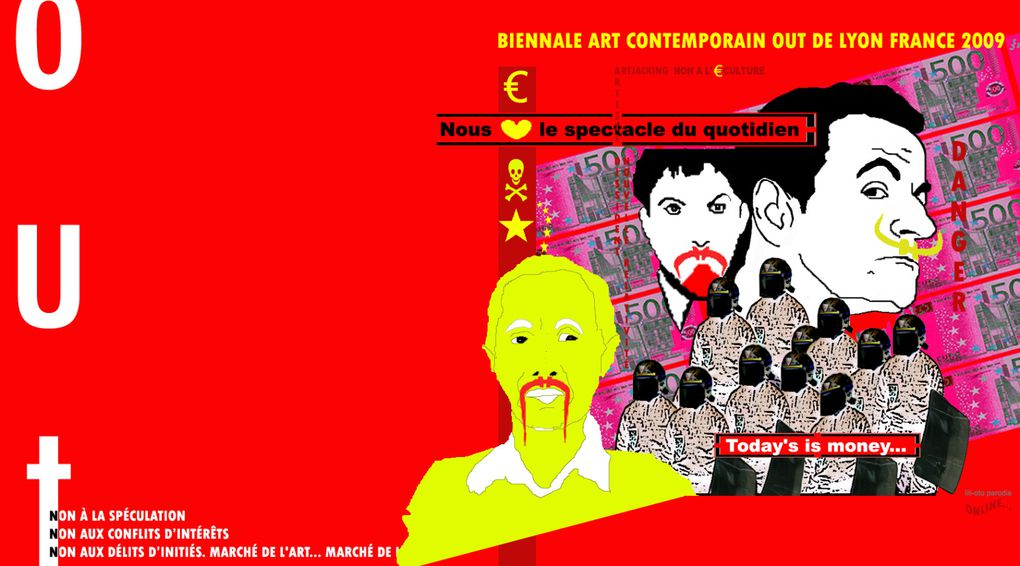 biennale lyon art contemporain 2009 france OUT