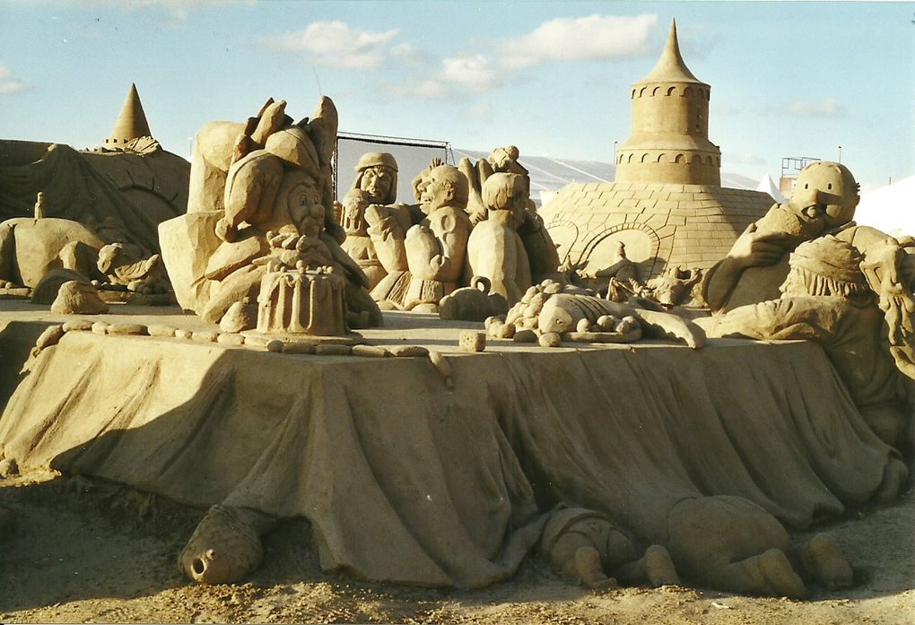 Album - Zeebrugge-festival-de-sculpture-de-sable-2003