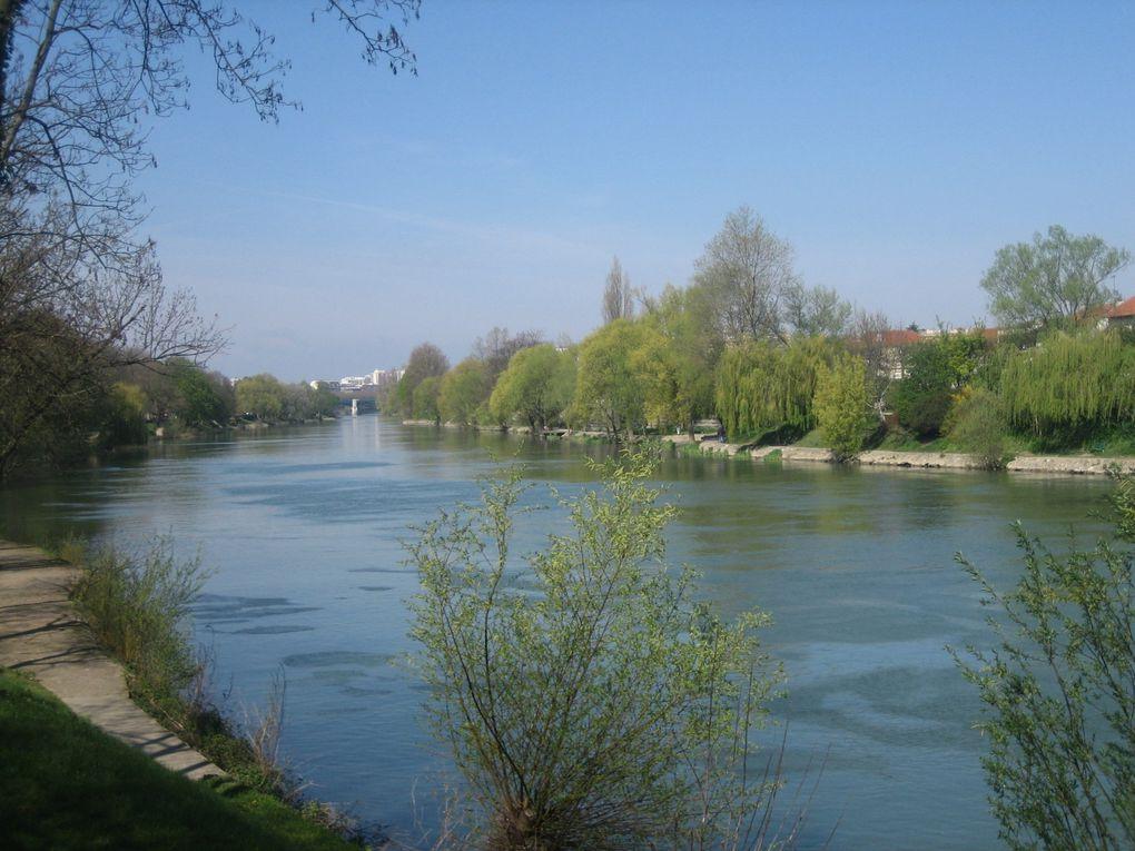 Photos des bords de Marne à proximité de Paris