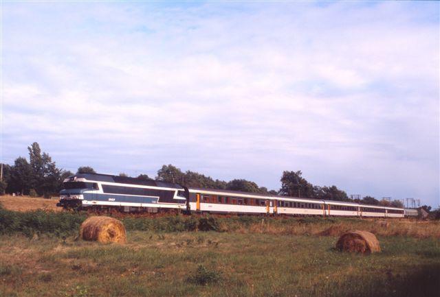 Photos prise avant l'électrification de la ligne