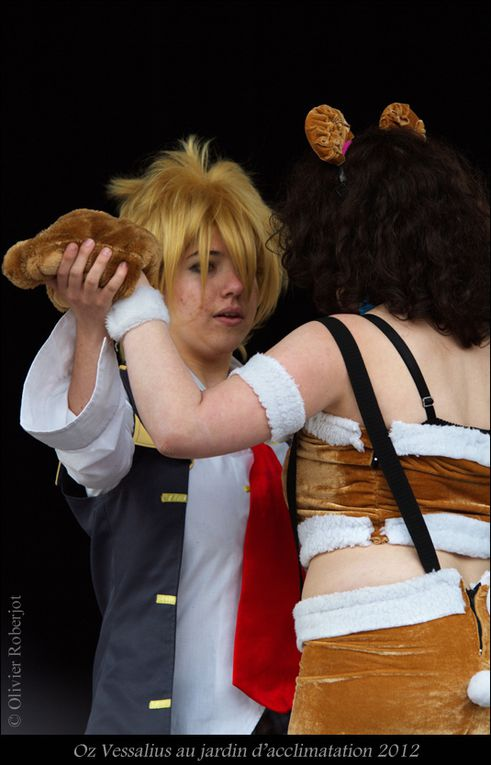 Cosplay au jardin d'acclimatation (avril 2012)