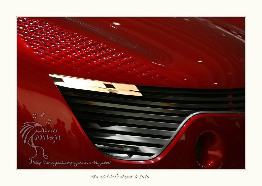 Photos couleurs du mondial de l'automobile 2010