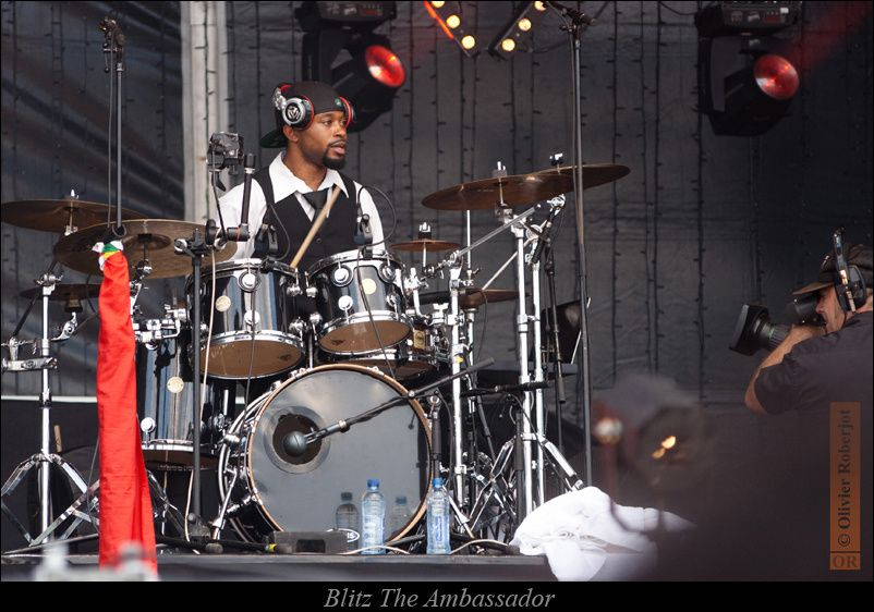 Blitz the ambassador au Solidays 2012