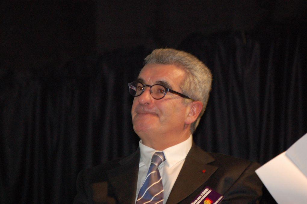Premier meeting régional pour Brigitte Baréges le jeudi 21 janvier 2010 à l'Union avec les têtes de liste départementales